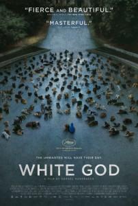 WHITE GOD - Afisul filmului